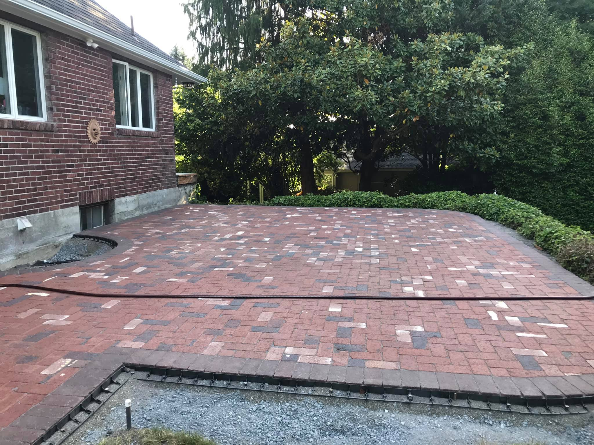 Concrete pavers 14